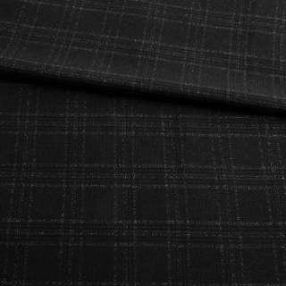 Шотландка стрейч чорна в клітку з метанітью GERY WEBER ш.137 оптом