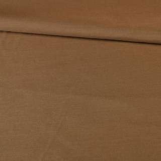 Поплин коричневый однотонный, ш.145 оптом