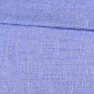 Коттон жаккардовый голубой в светлые штрихи и точки ш.150 оптом