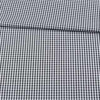 Котон в чорно-білу дрібну клітку ш.150 оптом