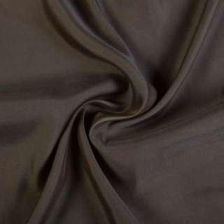 Купра костюмная коричнево-серая, ш.135 оптом