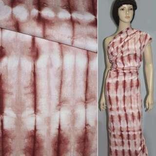 лен  кост.  бордовый  с  розовым ш.152 оптом