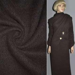 Кашемир темно-коричневый ш.150 оптом