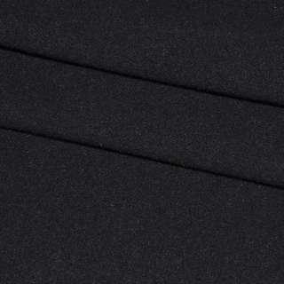 ткань пальтовая черная ш.150 см. оптом