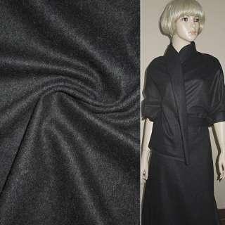 ткань пальтовая темно-серая ш.160 оптом