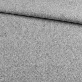 Кашемир пальтовый серый светлый PIACENZA BOGNER, ш.145 оптом