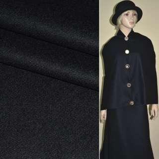 """Ткань пальтовая сине-черная 2-ст. """"PHILIPР"""" Германия ш.152 оптом"""