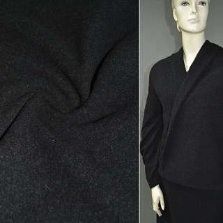 Тканина пальтова темно-сіра (кашемір) ш.150 оптом