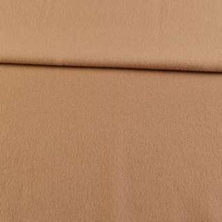 Кашемир пальтовый бежевый, ш.155 оптом