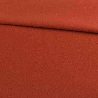 Кашемир пальтовый терракотовый, ш.150 оптом