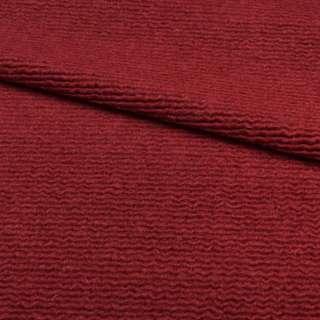 """Трикотаж пальтовый """"GERRY WEBER"""" бордовый, ш.150 оптом"""