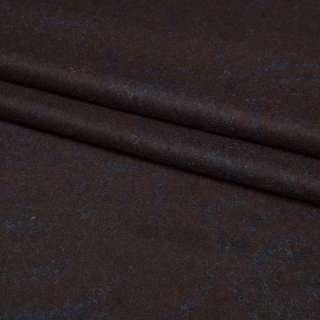 """Трикотаж """"GERRY WEBER"""" коричневий в сині розводи, ш.145 оптом"""