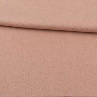Кашемир пальтовый бежево-розовый ш.152 оптом