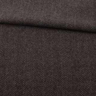 Напіввовна пальтова Bogner ялинка коричнева темна, ш.153 оптом