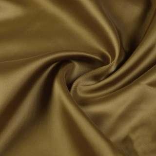 Вискоза атласная саржевая коричневая, ш.140 оптом