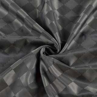 Вискоза подкладочная серая в серую шахматку, ш.148 оптом
