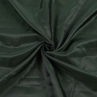 Вискоза подкладочная зеленая темная SCHLOSS ORTH, ш.140 оптом