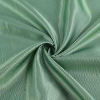 Вискоза подкладочная зеленая светлая диагональ, ш.142 оптом