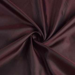 Вискоза подкладочная бордовая в полоску, ш.145 оптом