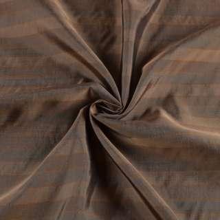Віскоза підкладкова бежева в тонку помаранчеву смужку, ш.141 оптом