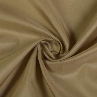 Нейлон підкладковий коричневий світлий, ш.150 оптом
