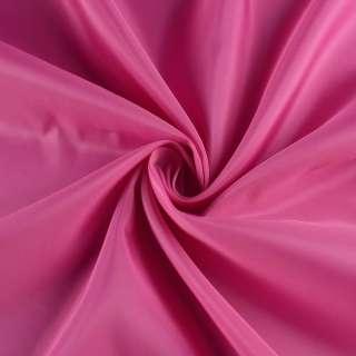 Полиэстер подкладочный розовый яркий, ш.152 оптом
