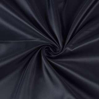 Полиэстер подкладочный синий темный, ш.150 оптом