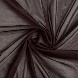 Сітка стрейч коричнева темна, ш.150 оптом