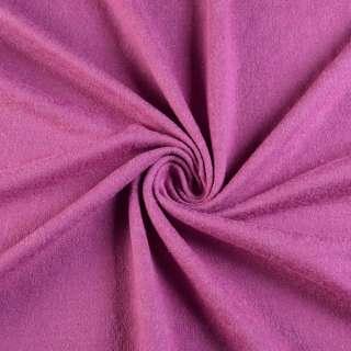 Трикотаж шерсть с шелком лиловый, ш.137 оптом