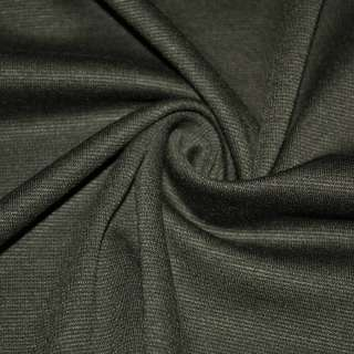 Трикотаж костюмний болотний сірий ш.150 оптом