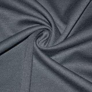 Трикотаж костюмний сірий ш.150 оптом