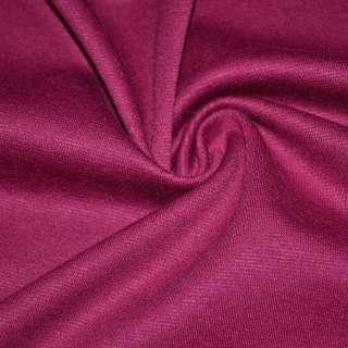 Трикотаж костюмний малиновий ш.150 оптом