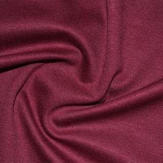 Трикотаж костюмний вишневий ш.150 оптом