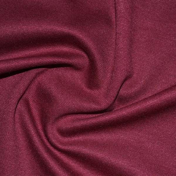 Трикотаж костюмный вишневый ш.150 оптом
