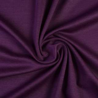 Трикотаж костюмний фіолетовий ш.150 оптом