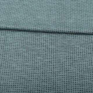 Джерсі жаккард сіро-зелений меланж, ш.155 оптом