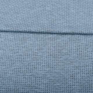 Джерсі жаккард сіро-блакитний меланж, ш.155 оптом