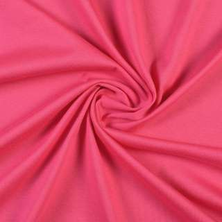 Трикотаж хлопковый розовый фуксия, ш.144 оптом