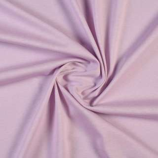 Трикотаж хлопковый сиреневый светлый, ш.148 оптом
