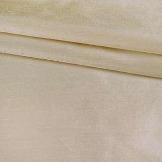 Шелк атласный плотный золотисто-жемчужно-белый ш.138 оптом