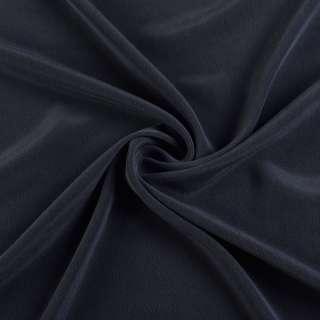 Шелк стрейч синий темный ш.136 оптом
