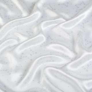 Шелк атласный молочный в серые звездочки ш.136 оптом