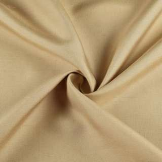 Шелк костюмный натуральный горчичный светлый в росчерки ш.135 оптом