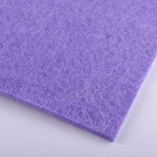 Фетр (для рукоделия) бледно-фиолетовый (2мм) ш.100 оптом