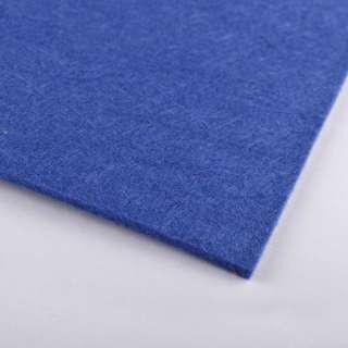 Фетр (для рукоделия) синий (2мм) ш.100 оптом