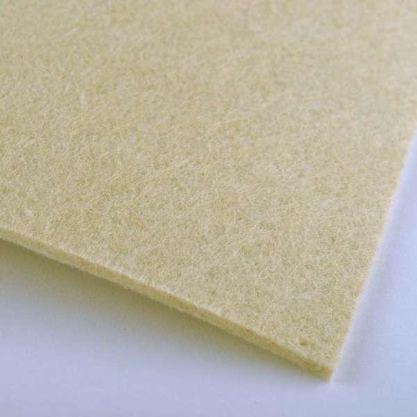 Войлок (для рукоделия) ванильный (2мм) ш.100 оптом