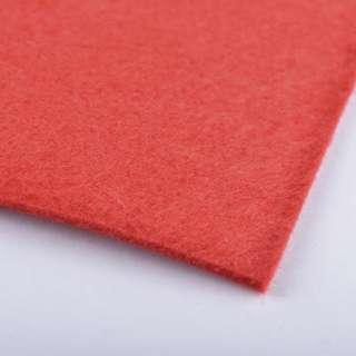 Войлок (для рукоделия) ярко-красный (2мм) ш.100 оптом
