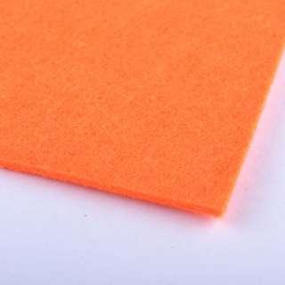 Фетр (для рукоделия) оранжевый неоновый (2мм) ш.100 оптом