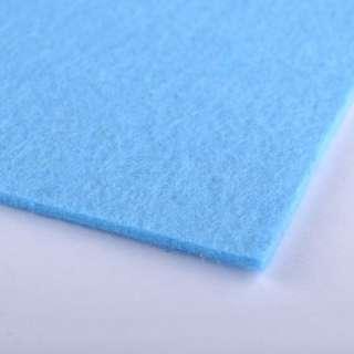 Фетр (для рукоделия) ярко-голубой (2мм) ш.100 оптом