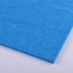 Войлок (для рукоделия) сине-голубой (2мм) ш.100